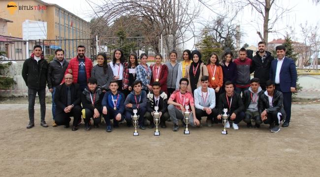 Bitlis Tatvan'da Bocce Turnuvası Düzenlendi