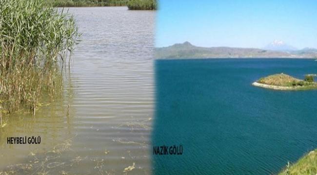 Heybeli Ve Nazik Gölü Hassas Alan Olarak İlan Edildi