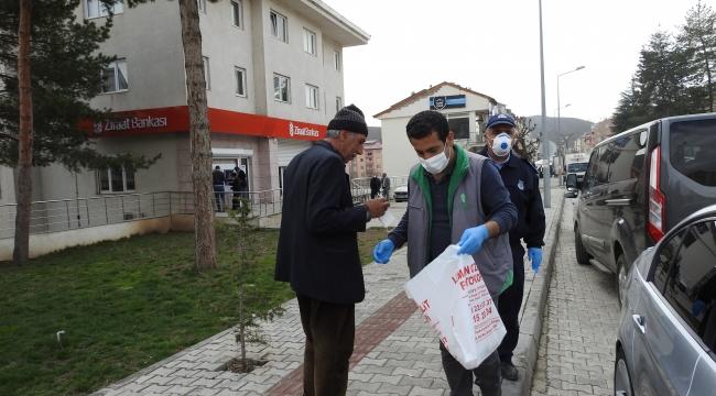 Hizan Belediyesinden Vatandaşa Ücretsiz Maske