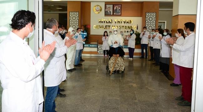 Bitlis'te 9 Kişi Koronavirüsü Yendi