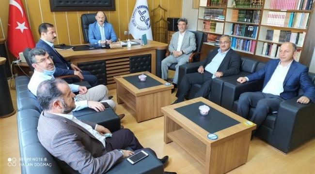 DİB Yönetim Hizmetleri Genel Müdürü Bilgin'den Tatvan Müftülüğüne Ziyaret