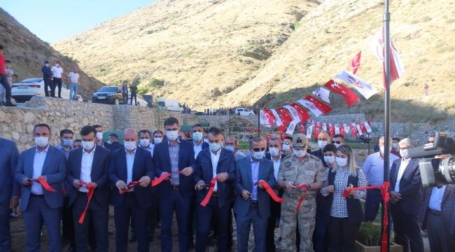 Altunkalbur Mesire Alanı Vatandaşların Hizmetine Açıldı