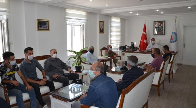 Basın Mensupları Kaymakam Erdemir'i Ziyaret Etti