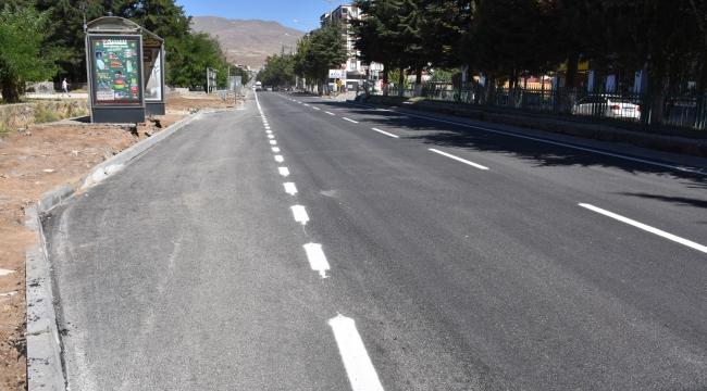 Cumhuriyet Caddesi'nde Birinci Etap Altyapı Çalışmaları Tamamlandı