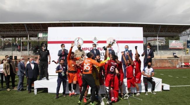 Ampute Türkiye Kupasını, Etimesgut Belediyesi Kazandı