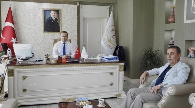 Başkan Aktaş, Yeni Kaymakamı Ziyaret Etti