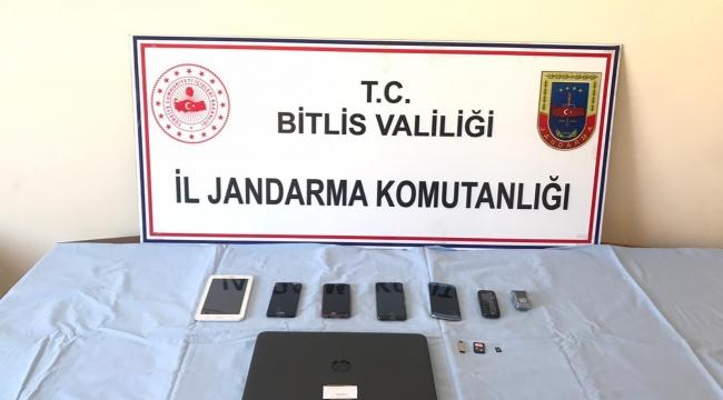 Bitlis'te Sosyal Medyada Terör Propagandası Yapan 1 Şüpheli Gözaltına Alındı