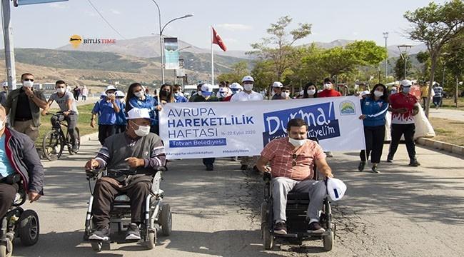 Tatvan'da Avrupa Hareketlilik Haftası Etkinlikleri Yapıldı