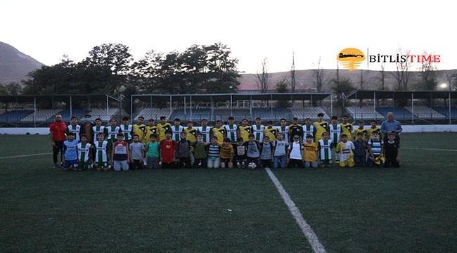 Tatvan'da U14-15 Hazırlık Maçı