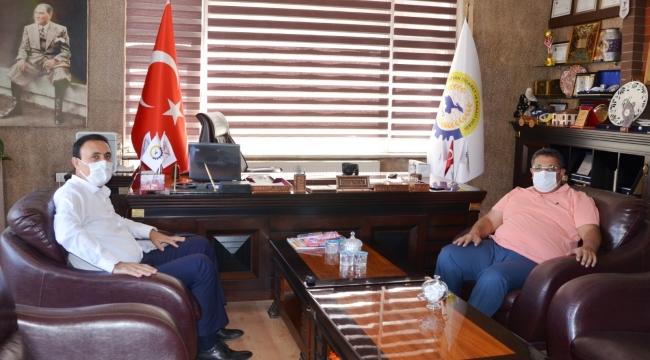 Van TB Başkanı Süer'in TATSO Ziyareti