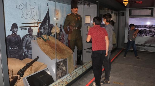 Çanakkale Savaşları Mobil Müzesi Bitlis'te