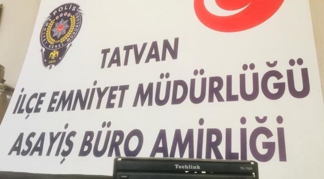 Tatvan'da Otodan Hırsızlık Yapan Şahıs Yakalandı