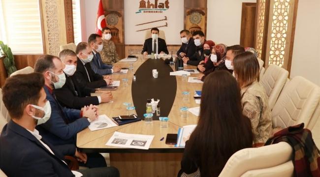 Bitlis İl Genelinde Kadına Yönelik Şiddetle Mücadele Koordinasyon Planı Değerlendirme Toplantısı Yapıldı
