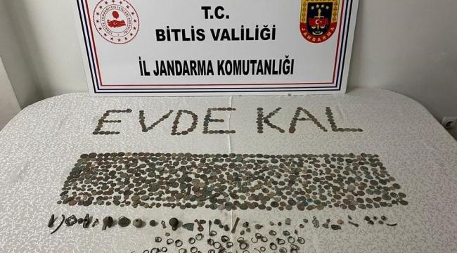 Bitlis'te Tarihi Eser Kaçakçılarına Yönelik Operasyon!