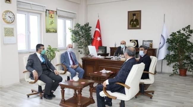 Bitlis Ve Van İl Müftülerinden, Muş İl Müftüsüne Hayırlı Olsun Ziyareti