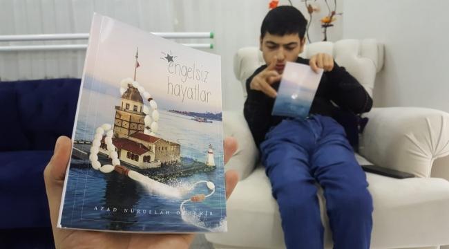 """Engelli Azad'ın """"Gazetecilik"""" Hayali BİGACEM Tarafından Gerçeğe Dönüştü"""