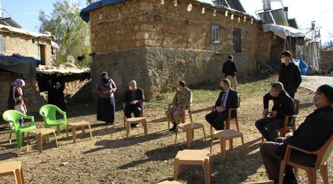 Kaymakam Yelek, Köy Ziyaretinde Bulundu
