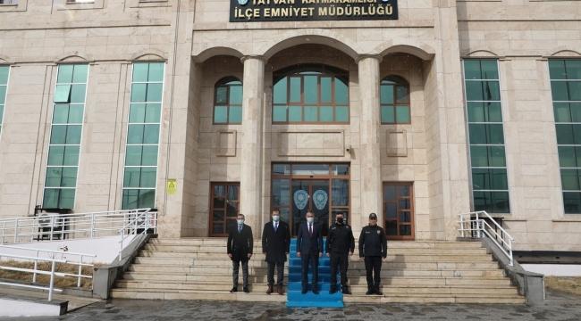 Bitlis Valisi Çağatay'dan Ziyaret