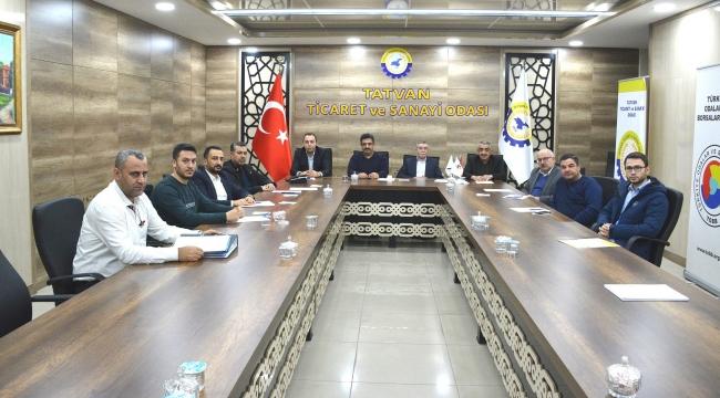 OSB ile İlgili İstişare Toplantısı Düzenledi