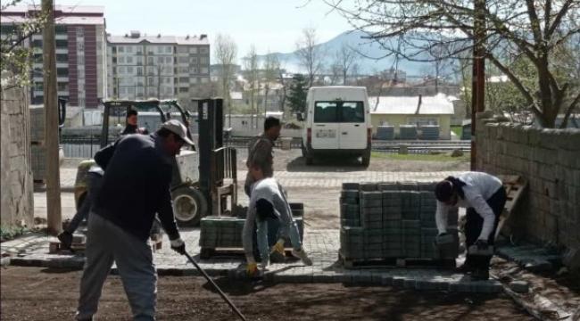 Tatvan Belediyesi Yol Yapım Çalışmalarına Başladı