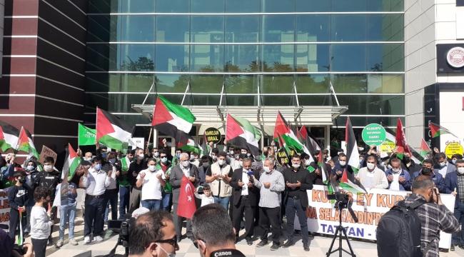 Tatvan'da Siyonist İsrail Rejimine Tepki