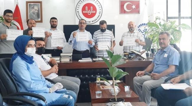Adilcevaz'da Din Görevlileri Aşı Olma Çağrısında Bulundular