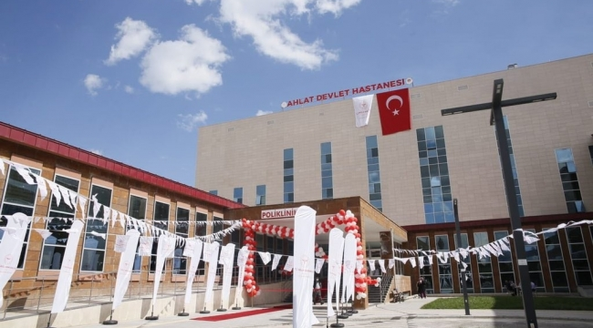 Ahlat'ta Hastane Açılışı
