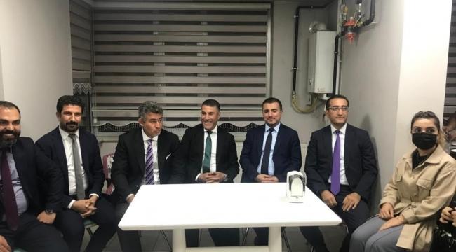 Baro Başkanı Feyzioğlu Bitlis Barosunu Ziyaret Etti