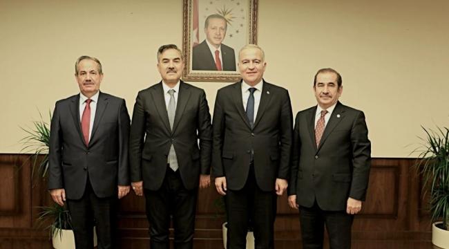 Başkan Gürsoy, Ankara'da Adilcevaz'a Müjde Verdi