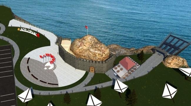 Bayraklıtepe'ye Van Gölü Manzaralı Seyir Terası