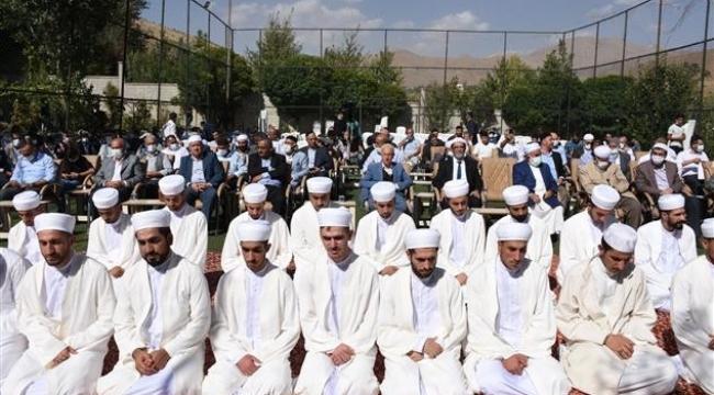 Bitlis'te İlimlerini Tamamlayan 41 Talebeye İcazetleri Verildi