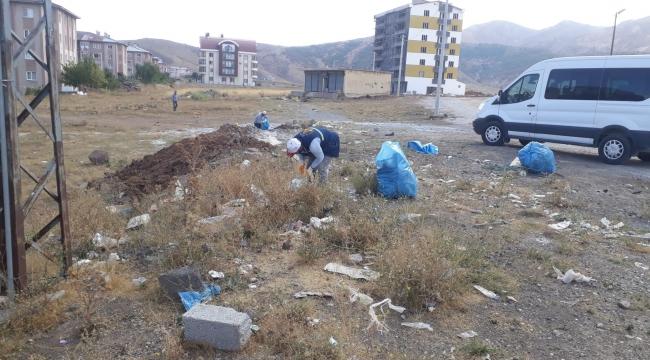 Bitlis'te Mıntıka Temizliği