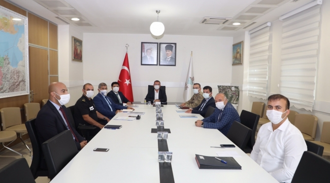 Bitlis'te Üniversite Güvenlik Toplantısı Yapıldı