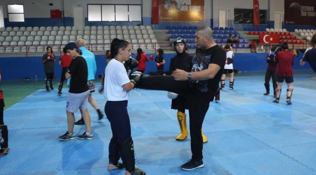 Tatvan'da Muay Thai Milli Takım Kampı Sona Erdi