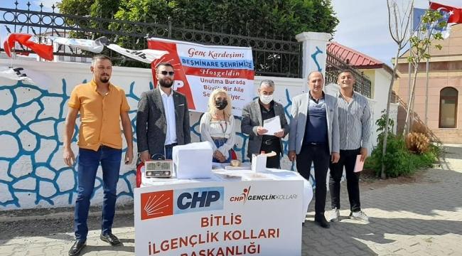 Bitlis CHP İl Başkanı Kahraman Yardım'dan '3600 Ek Gösterge' Açıklaması